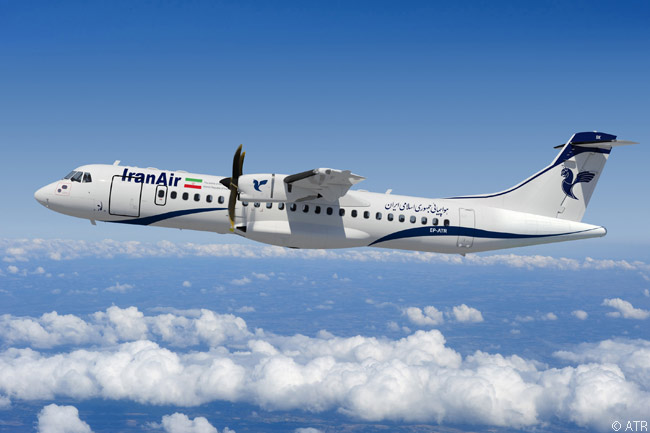 On February 1, 2016, Iran Air signed an agreement in Tehran with turboprop regional airliner manufacturer ATR to order up to 40 ATR 72-600s. The deal included an initial firm order for 20 aircraft and options on 20 more