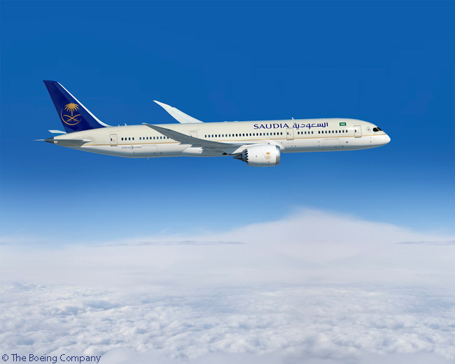 On February 2, 2016, Saudia took delivery of its first two Boeing 787-9s, along with a 777-300ER