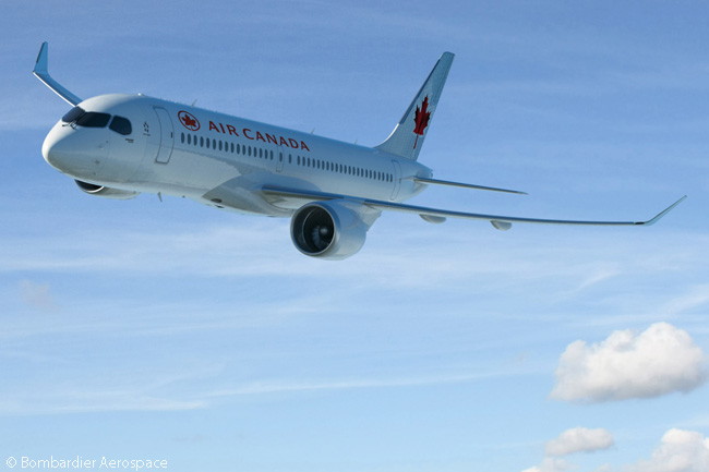 On February 17, 2016, Bombardier announced Air Canada had signed a letter of intent to order 45 CS300 jets and option 30 more. The LOI represented the first new commitment for the C Series family in more than a year