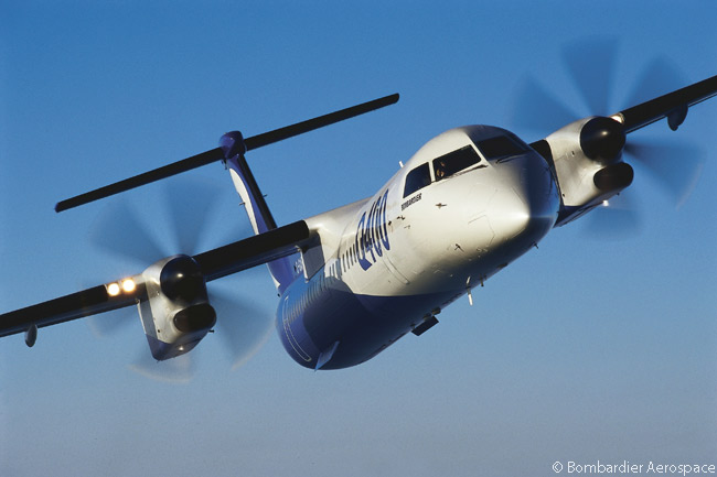 On February 17, 2016, Bombardier announced at the Singapore Airshow that it would introduce a 90-seat version of its Q400 turborop regional airliner in 2018. From 2018, also, Bombardier would increase the Q400's 'A' and 'C' check scheduled maintenance intervals to 800 and 8,000 flight hours respectively
