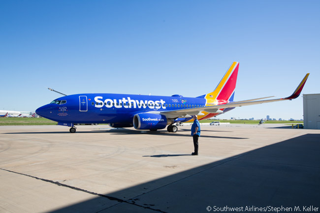 On November 19, 2015, Southwest Airlines sent a Boeing 737-700 full of chronically ill children and their families to Disney World in Orlando during the annual Kidds Kids event