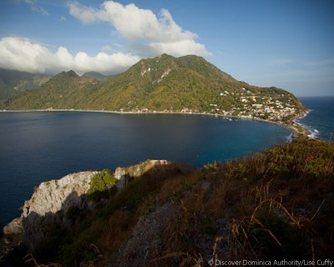 Soufriere-Scotts Head Marine Reserve, Dominica. Photo courtesy of Discover Dominica Authority