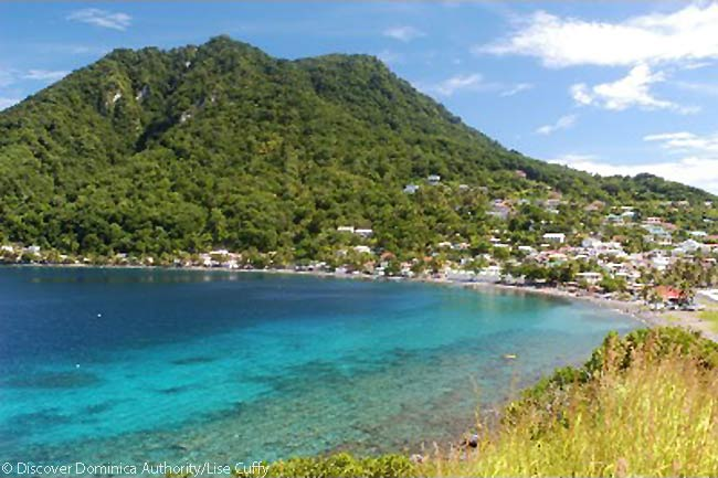 Scotts Head, Dominica. Photo courtesy of Discover Dominica Authority