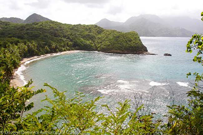 Batibou Beach, Dominica. Photo courtesy of Discover Dominica Authority
