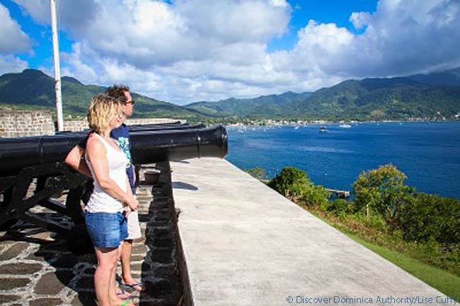 Fort Shirley, Cabrits, Dominica. Photo courtesy of Discover Dominica Authority