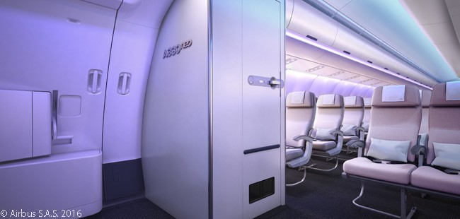 Airbus decided to launch its 'Airspace by Airbus' cabin-interior design brand on the A330neo family of widebody jets