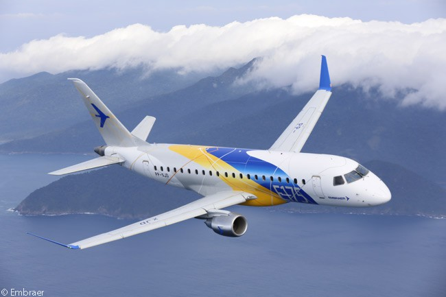 The Embraer 175 has proved particularly popular in terms of orders from U.S. carriers, which by April 2016 had placed firm orders for 332 examples. Under the scope clauses in the pilot labor-contracts of major U.S. network airlines, the Embraer 175's 76-seat seat capacity allows it to be operated on mainline route networks by the majors' regional-airline partners