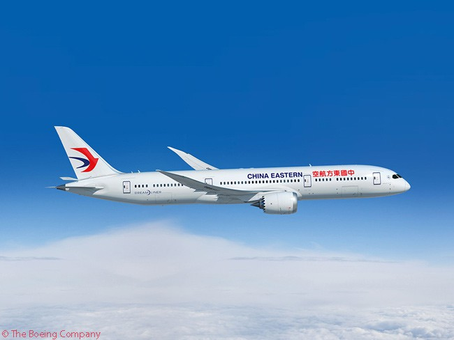 On April 28, 2016, China Eastern Airlines placed an order for 15 Boeing 787-9 widebodies