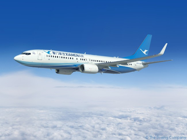 On April 26, 2016, Chinese carrier XiamenAir ordered another 10 Boeing 737-800s to add to nearly 150 already in service and on order