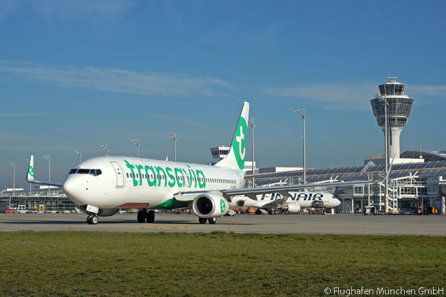 Air France KLM subsidiary Transavia received permission from Munich Airport to base four aircraft there for its 2016 summer schedule. Munich is Transavia's first operating base outside France and the Netherlands