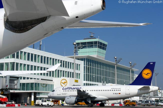 Munich Airport's new, €900 million Terminal 2 Satellite facility is designed to handle 11 million passengers a year, all of them boarding and disembarking their flights via air bridges at aircraft contact points