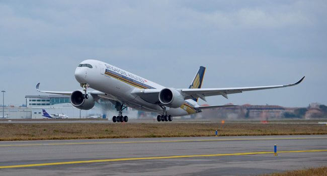 Johannesburg to Be SIA's Second A350-900 Long-Haul Destination