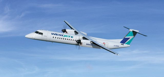 WestJet Orders Nine More Bombardier Q400s for WestJet Encore