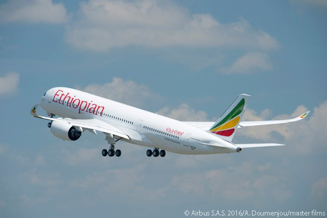 By mid-2016 Ethiopian Airlines had committed to acquire 14 Airbus A350-900s, ordering 12 directly from Airbus and agreeing to lease two from leasing company AerCap