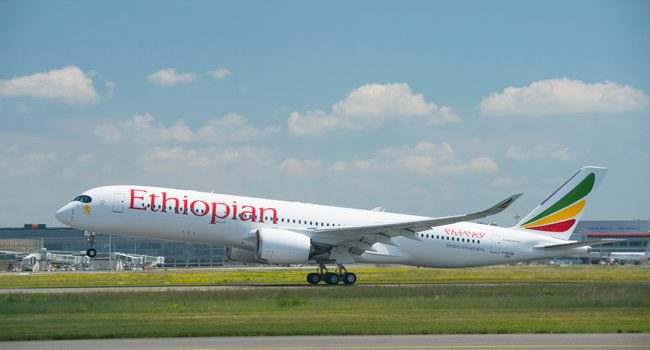Ethiopian's Staff Claims World Record as Carrier's First A350-900 is Delivered