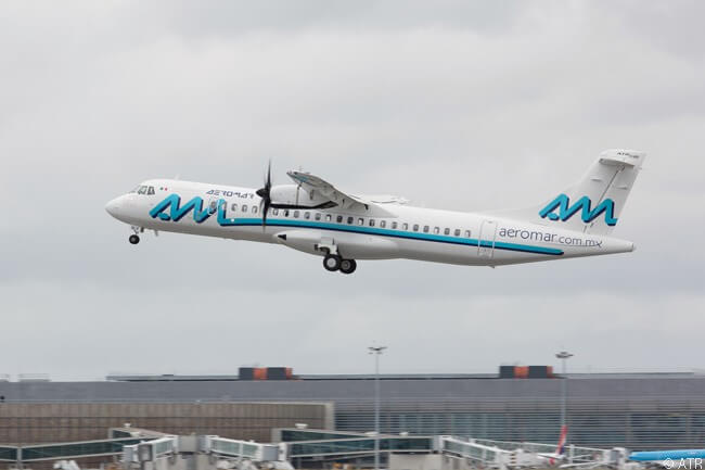 On November 14, 2016, Mexican regional carrier Aeromar placed a firm order for six ATR 72-600s and two ATR 42-600s, the contract also including options for six more ATR 72-600s