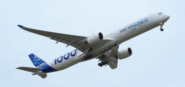 The Airbus A350-1000 Flies for the First Time