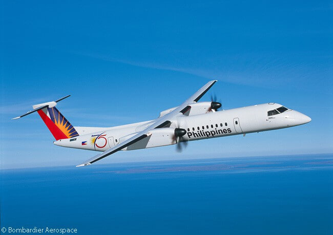 On December 8, 2016, Bombardier Aerospace announced Philippine Airlines had become the launch customer for the 86-seat, two-class expanded-capacity version of the Bombardier Q400. The carrier placed a firm order for five aircraft and secured purchase rights on seven more
