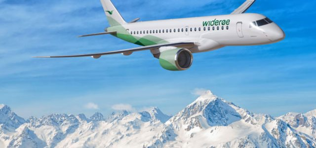 Norway's Widerøe Selects Embraer 190-E2 as Its First Jet Type