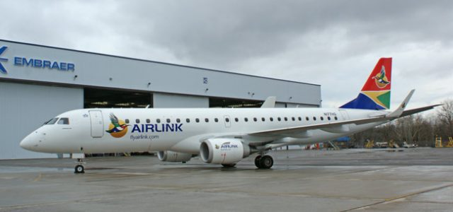 South Africa's Airlink to Operate a Fleet of E-Jets