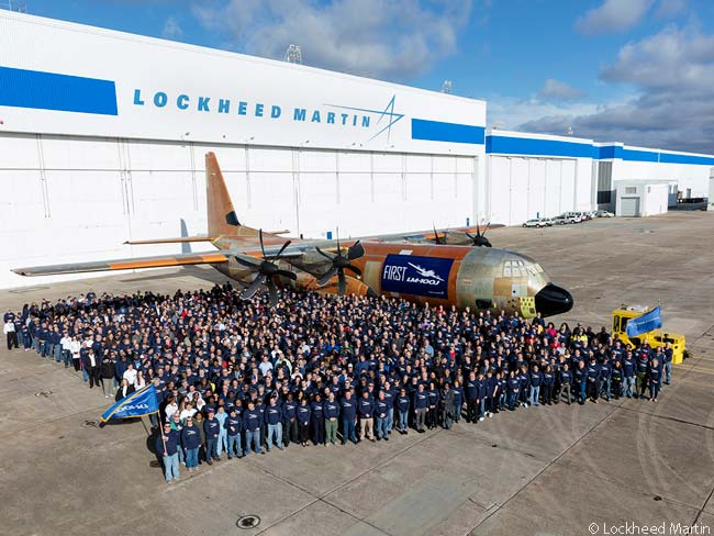 Lockheed Martin Unveils C-130J Commercial-Freighter Version