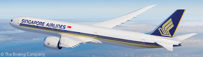 Singapore Airlines Plans Order for 20 777-9s and 19 More 787-10s