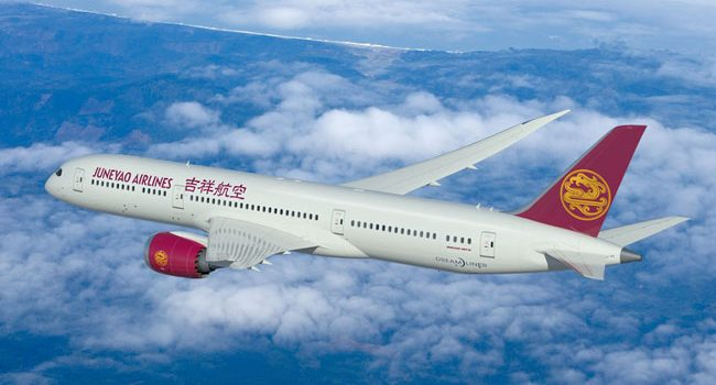 Juneyao Airlines Finalizes Order for Five Boeing 787-9s